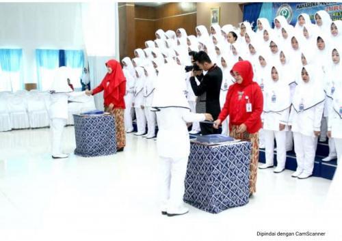 Acara Angkat Janji mahasiswa Jurusan Kebidanan Poltekkes Kemenkes Tasikmalaya