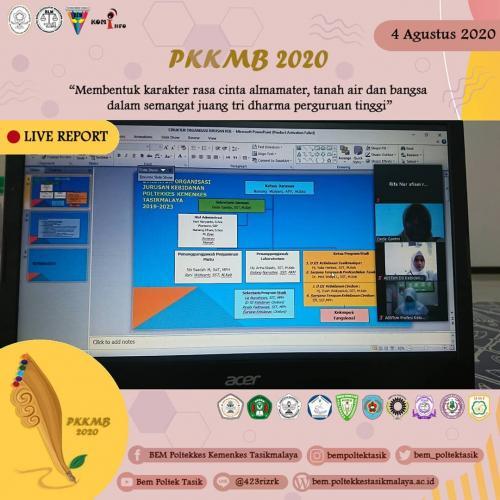 Kegiatan PKKMB Daring 2020