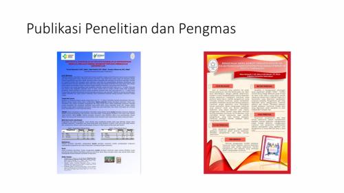 Publikasi Penelitian dan Pengma