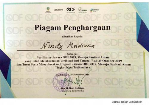 Piagam Penghargaan ODF